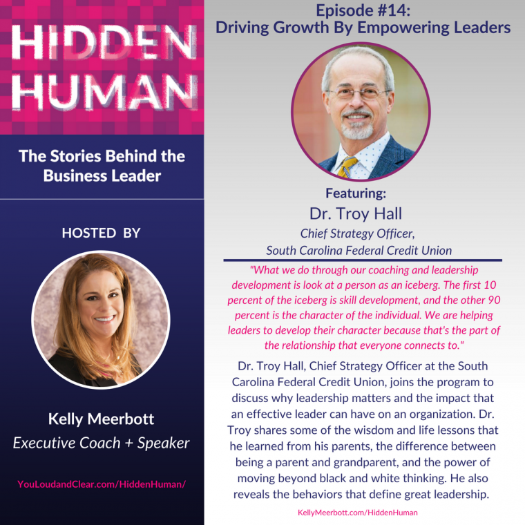 Dr. Troy and Kelly Meerbott on Hidden Human Podcast